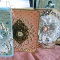 handmade folder cards for butterbeescraps