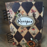 country recipe book by butterbeescraps
