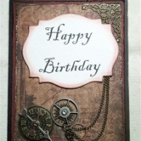 masculine happy birthday card by butterbeescraps