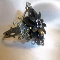 bronze filigree bracelet for butterbeescraps