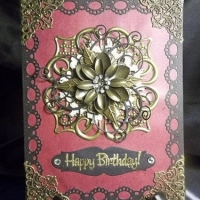 happy birthday card for butterbeescraps