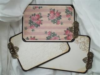 trousseau mini album by butterbeescraps
