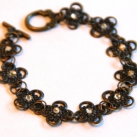 bronze filigree bracelet for butterbeescraps