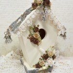 altered birdhouse for butterbeescraps