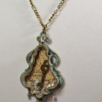 chandelier pearls necklace for butterbeescraps