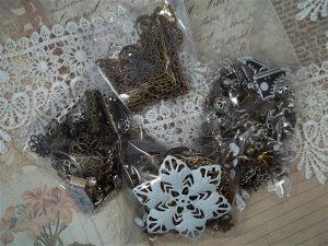charm grab bag by butterbeescraps