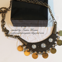 egyptian style necklace for butterbeescraps