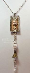 bezel necklace pendant for butterbeescraps