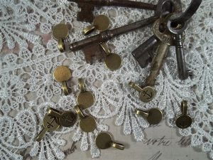 bronze glue on jewelry bails by butterbeescraps