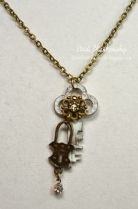 key necklace for butterbeescraps