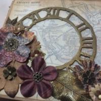 treasured past mini album by the paperbaglady