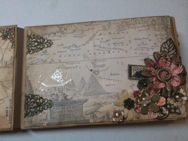 treasured past mini album by thepaperbaglady