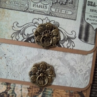 kaisercraft 75 cents mini album by butterbeescraps