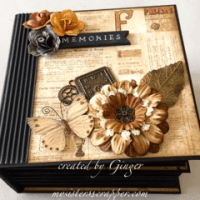 prima archivist mini album ginger ropp