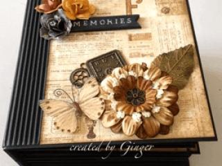 prima archivist mini album ginger ropp