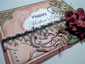 mother's day card by butterbeescraps