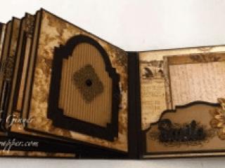prima archivist mini album by ginger ropp
