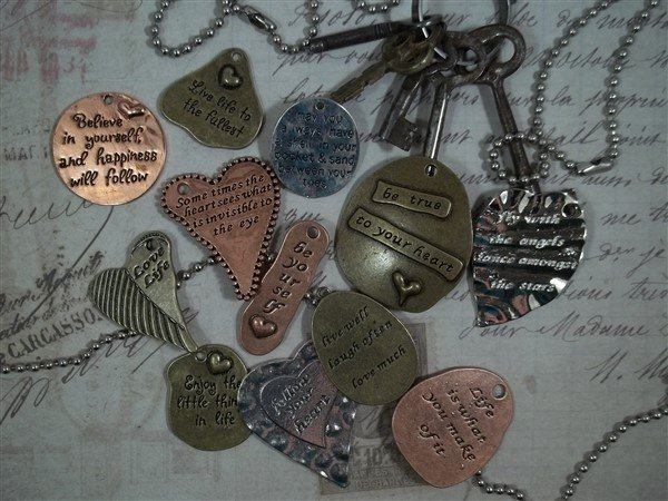 be inspired tibetan charms by butterbeescraps