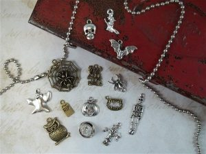 haunted hallows tibetan charms by butterbeescraps