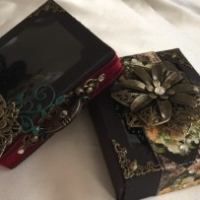 decorative shadow boxes for butterbeescraps