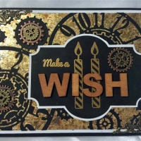 masculine handmade birthday card for butterbeescraps