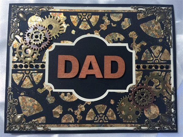 father's day handmade card for butterbeescraps