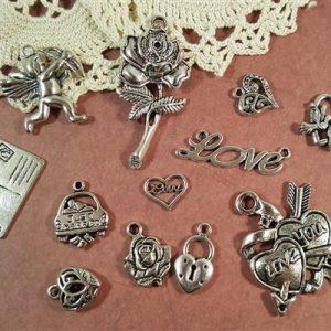 love struck tibetan charms collection