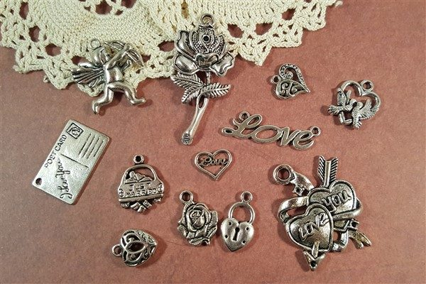 love struck tibetan charms collection