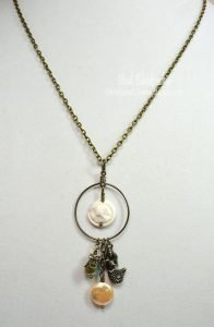 mermaid necklace for butterbeescraps