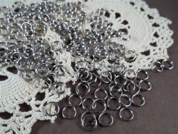 7mm stainless steel split rings