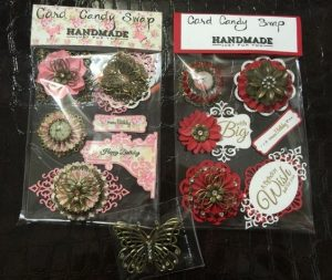 handmade embellishments for butterbeescraps