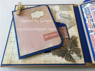 tim holtz correspondence mini album