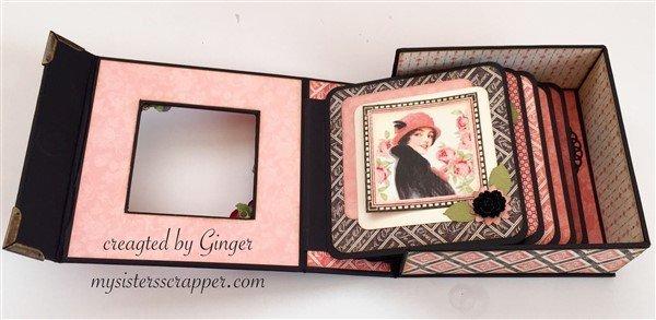 graphic 45 mon amour boxed mini album