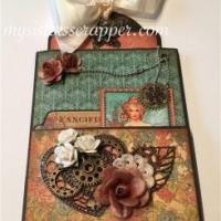 g45 steampunk debutante altered paper bag