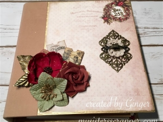 prima victorian christmas mini album