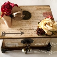 stationer's desk boxed tag mini album
