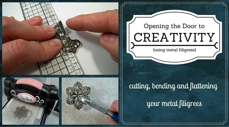 cuttin and bending metal filigree embellishments feature