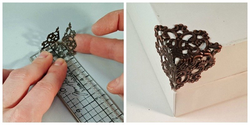 filigree box corner tutorial