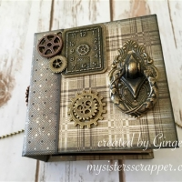 time holtz dapper envelope mini album