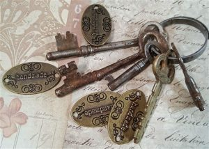 bronze oval handmade tibetan charms