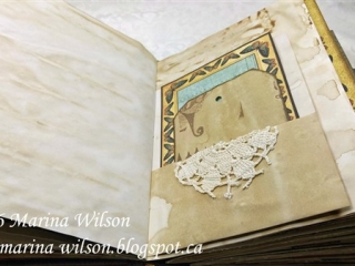 handmade journal by marina wilson